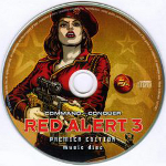 Command & Conquer -Red Alert 3- Music Disc