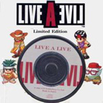 Live A Live Perfect Strategy Guide Book Bonus CD