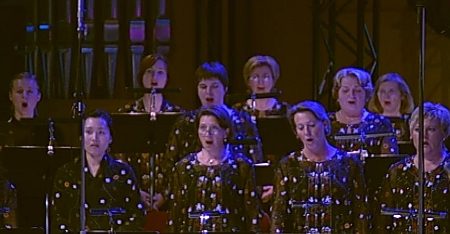 The Female Chorus Enter, Copyright by WDR