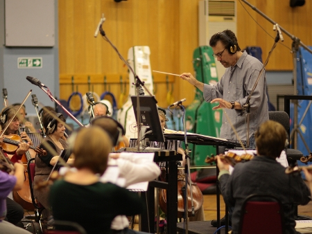Garry Schyman Records Dante's Inferno at Abbey Road Studios