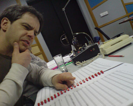 Grant Kirkhope Before Recording Sessions