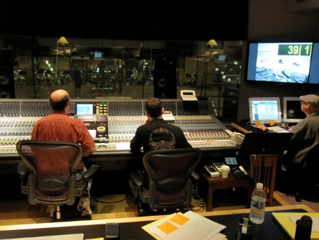 Woodwind Recording Session at Skywalker Sound