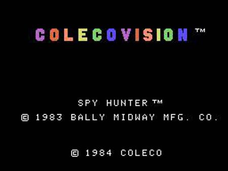 Spy Hunter for ColecoVision