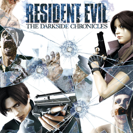 Resident Evil: The Darkside Chronicles US Cover (© CAPCOM CO., LTD. ALL RIGHTS RESERVED / © CAPCOM U.S.A., INC. ALL RIGHTS RESERVED)