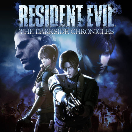 Resident Evil: The Darkside Chronicles Cover (© CAPCOM CO., LTD. ALL RIGHTS RESERVED / © CAPCOM U.S.A., INC. ALL RIGHTS RESERVED)