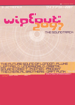 Promo postcard that was sent out to promote the Vinyl / CD Album from Wipeout 2097, although none of Tim Wright's music ended up being featured on there