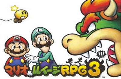 Amusing Depicting of Mario & Luigi RPG 3