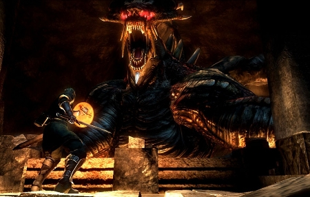 Intimidating Scene from Demon's Souls
