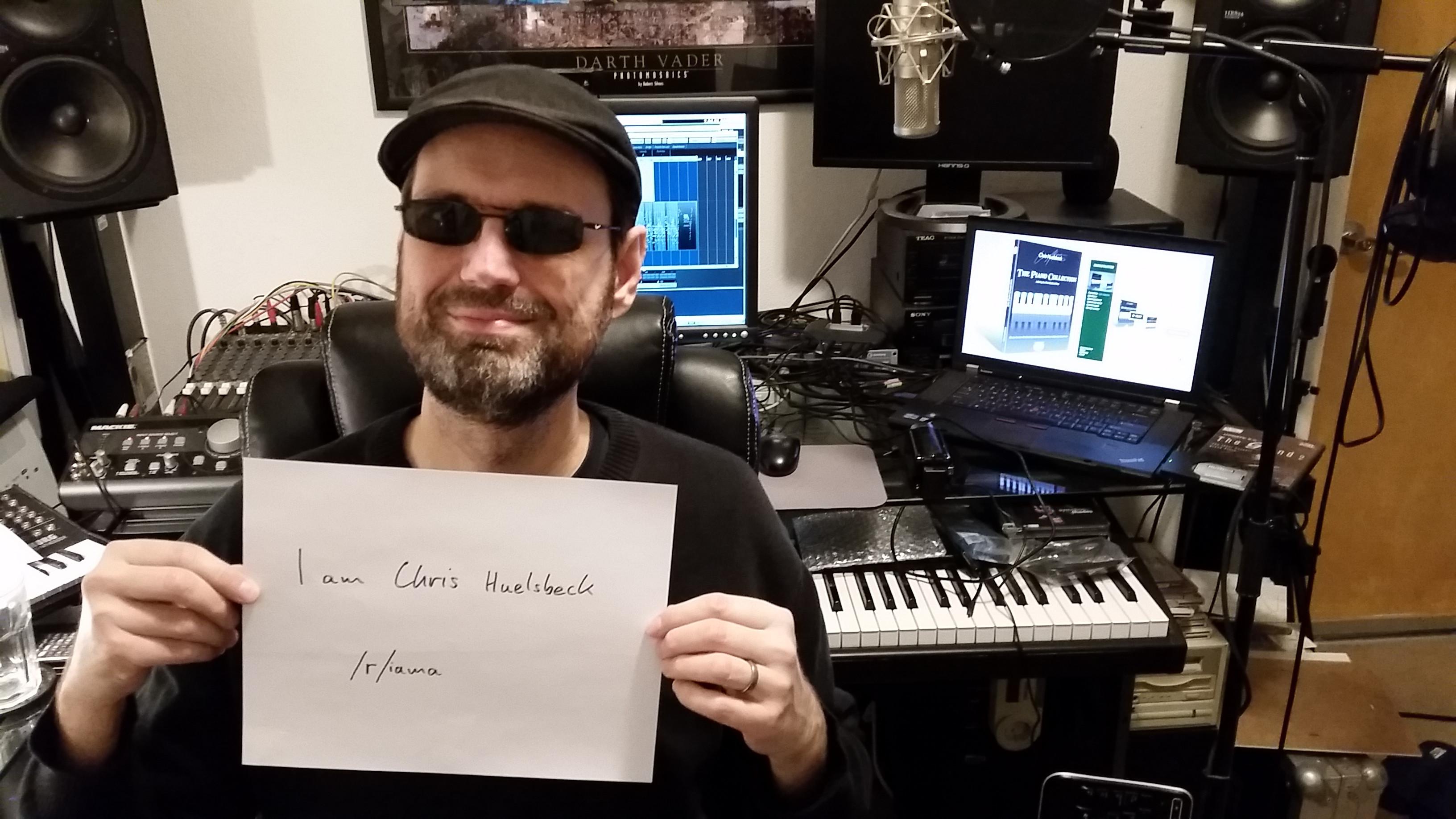 Chris Huelsbeck Reddit AMA