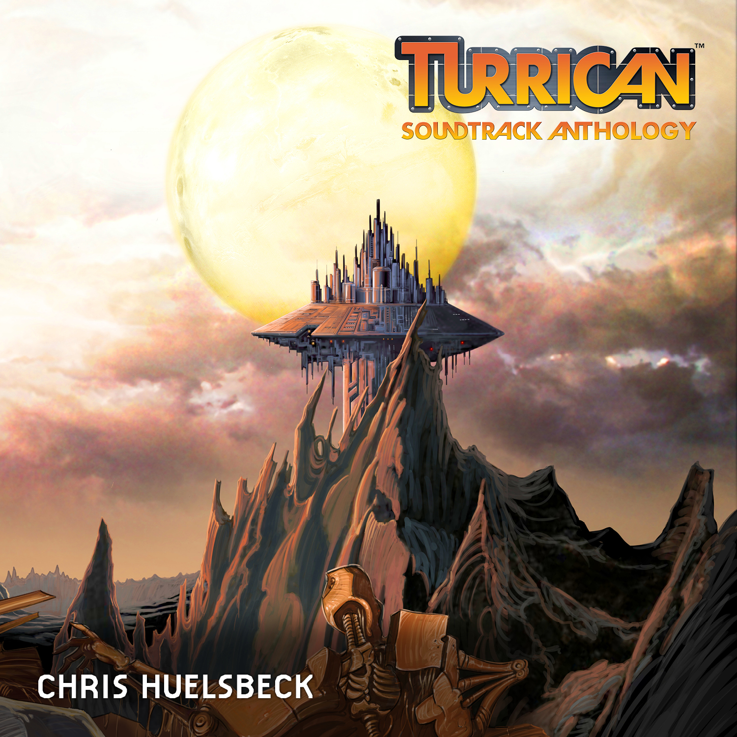 Chris Huelsbeck - Turrican Soundtrack Anthology Vol. 2 - TSA Virtual Cover Alternative 2