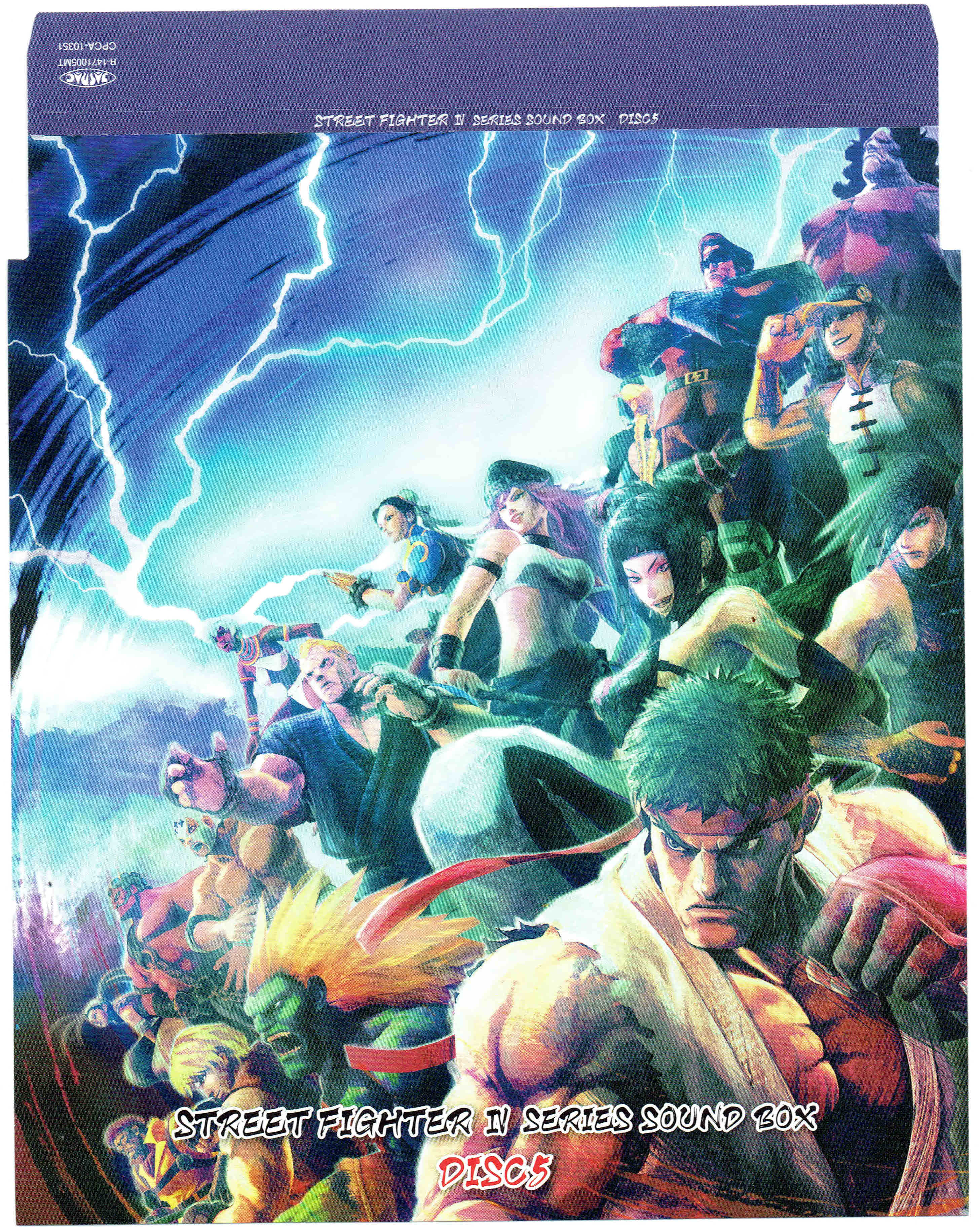 VGMO -Video Game Music Online- » Street Fighter IV Series Sound Box