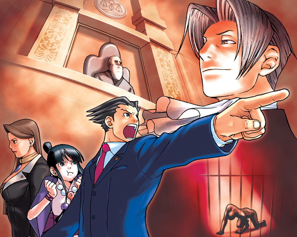 Ace attorney anime coming april 2016 will it sink or will it float