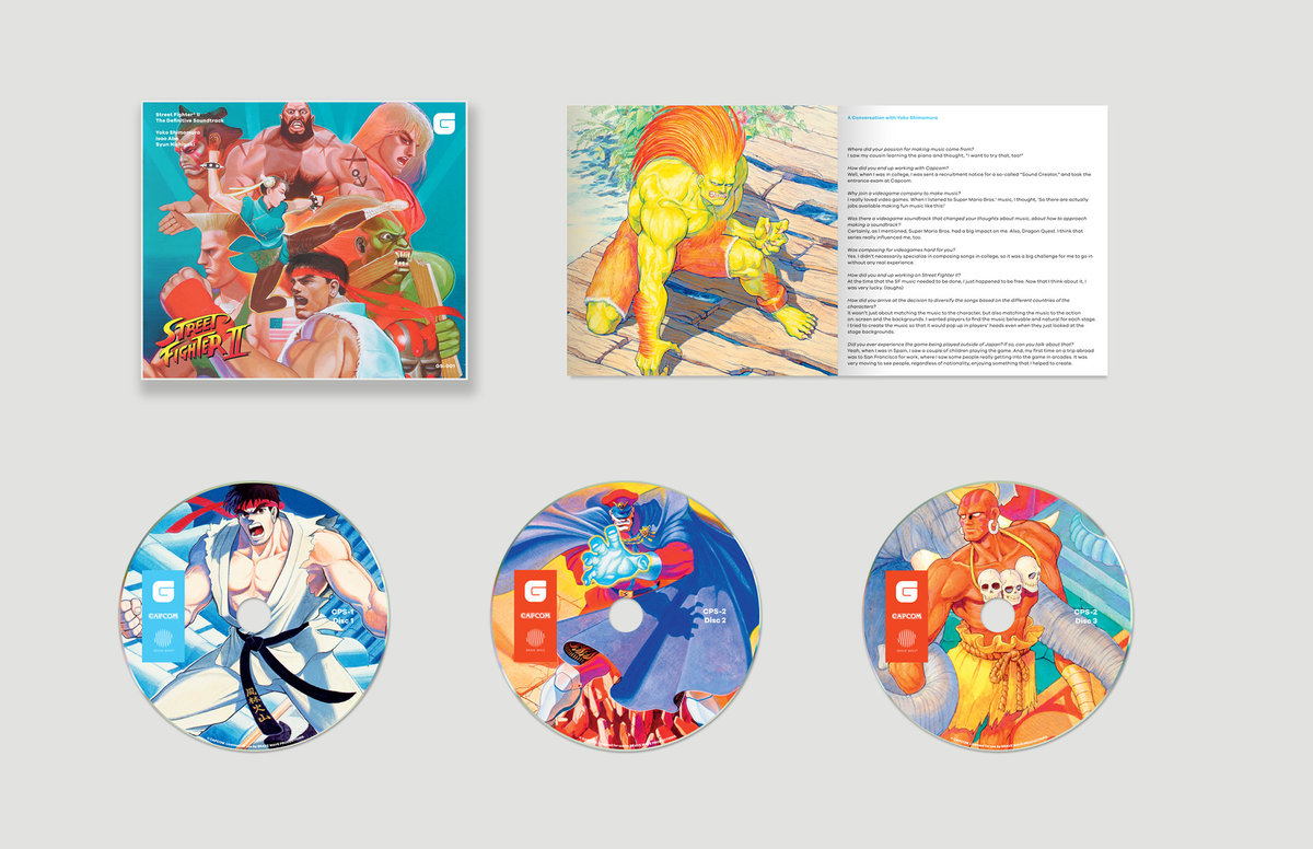 Street Fighter II CD