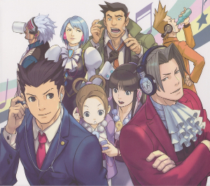 Vgmo Video Game Music Online Ace Attorney Sound Box