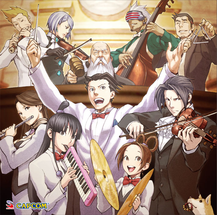 Vgmo Video Game Music Online Ace Attorney Meets Again