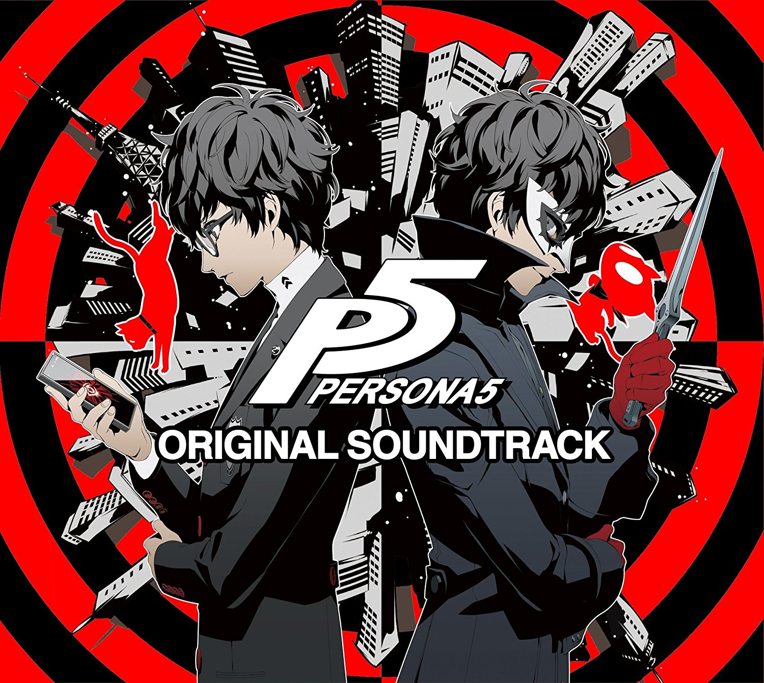 vgmo video game music online atlus releases three disc persona 5 album. Black Bedroom Furniture Sets. Home Design Ideas